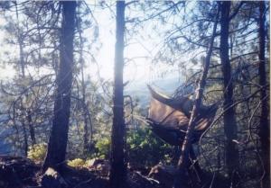 My tent/hammock