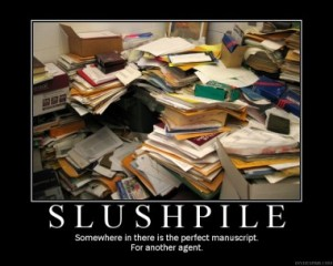 The infamous Slushpile, via the Steve Laube Agency
